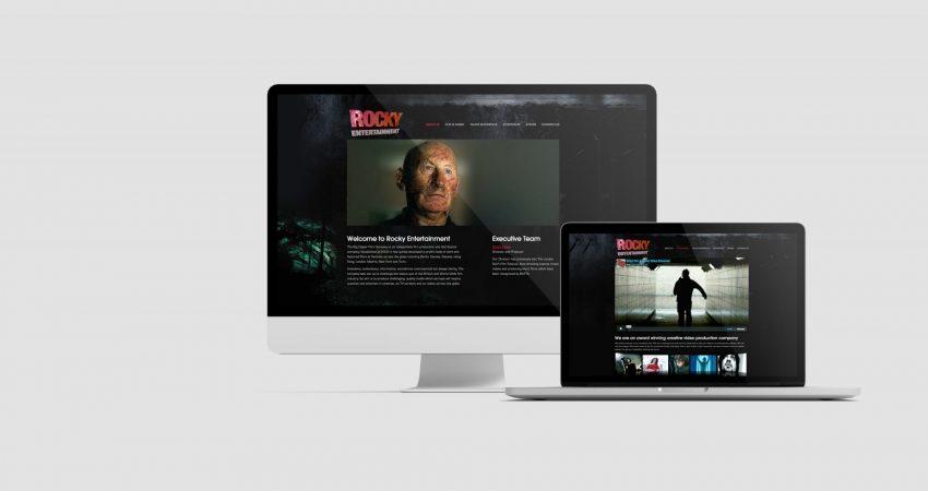 Rocky Entertainment Website