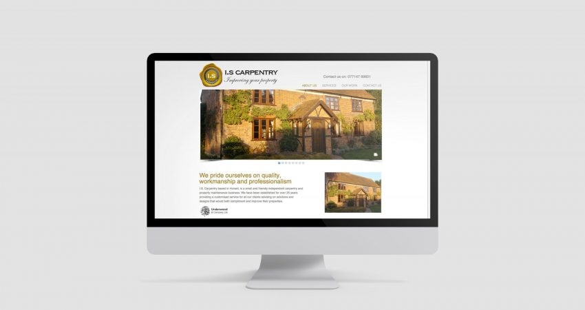 IS Carpentry Website Development